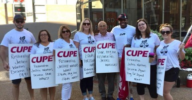CUPE 4764 strike