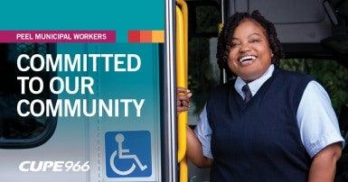 Peel 966 Transhelp Bus Driver