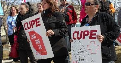 Manitoba Health Care Protest