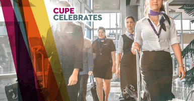 CUPE celebrates - Safer Skies