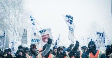 Grève Port de Montreal strike