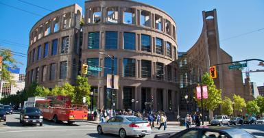 Vancouver Public Library. Wikimedia. rodefeld