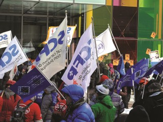 Quebec- austerity protest