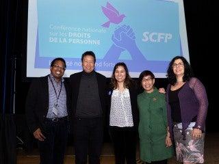 Ronald Boisrond, Kent Wong, Erica Violet Lee, Beth Dollaga and Sylvia Soufi