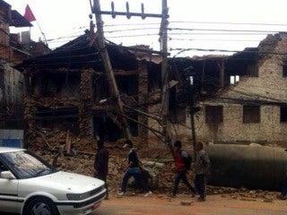 Earthquake devastated the capital of Nepal, Kathmandu on April 25