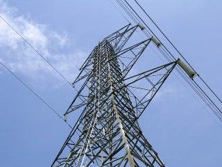 Power lines in Ontario
