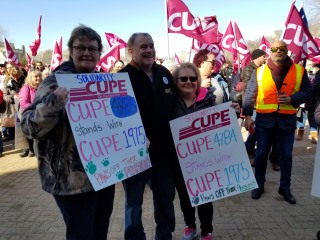 CUPE 1975 members
