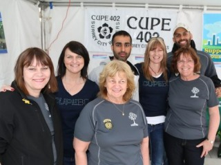 CUPE 402 wins Earth Day contest 2014