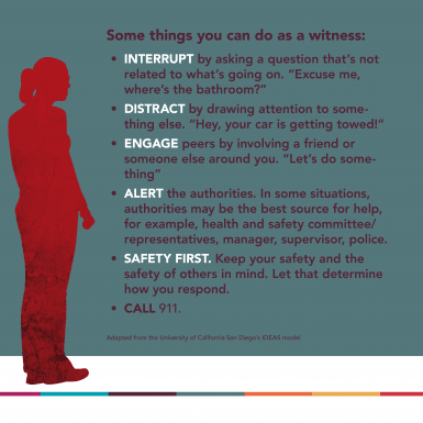 Some things you can do as a witness