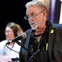 President-elect for CUPE NB addressing Convention