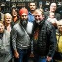 Jagmeet Singh and Mark Hancock in Burnaby, 2019