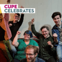 New members celebrate joining CUPE