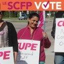 Bons emplois : Le SCFP vote