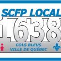 SCFP 1638 Cols bleus Ville de Québec
