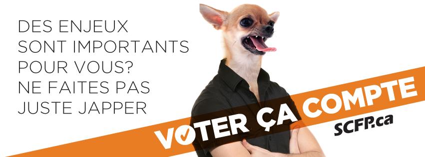 Voter, ça compte: photos de profil pour les médias sociaux