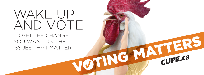 Voting Matters Cover: Rooster Image