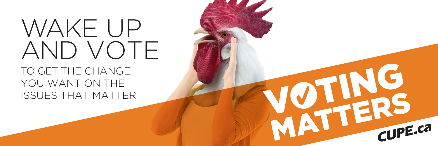 Voting Matters Header: Rooster Image