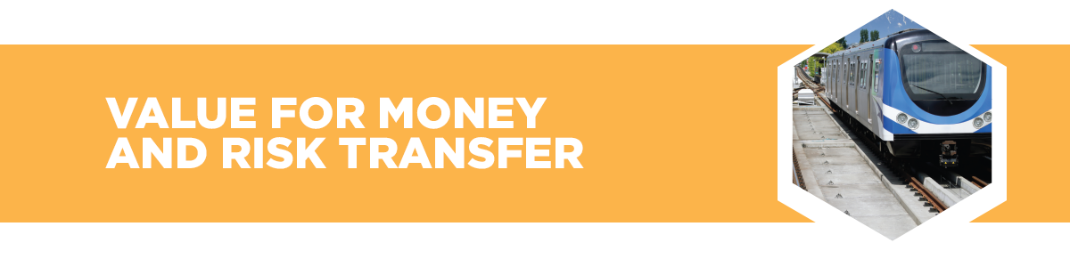 Value for money and risk transfer