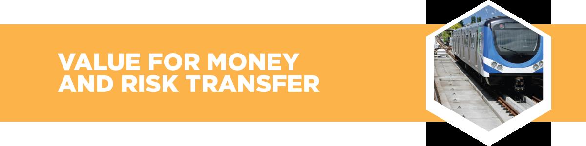 Value for money and risk transfer
